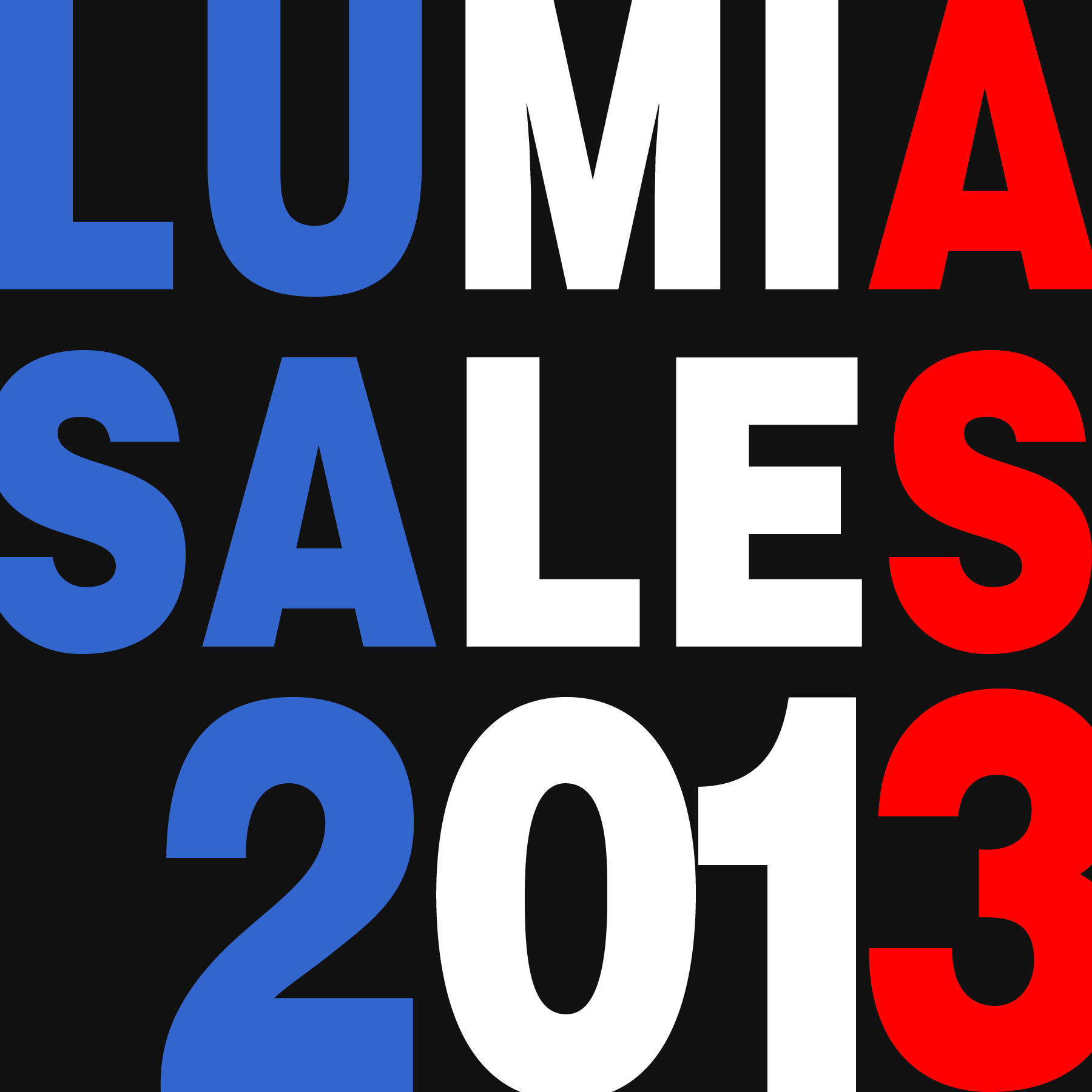 An analysis of French Lumia sales in 2013.